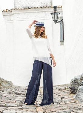 Chiffon trouser suit. 8816/8848 (004090)